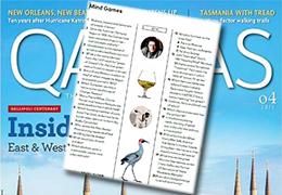 Qantas Magazine Quiz